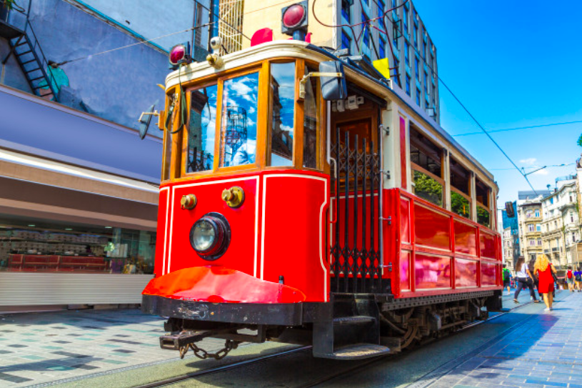 Explore Taksim's Famous Istiklal Street In Istanbul!