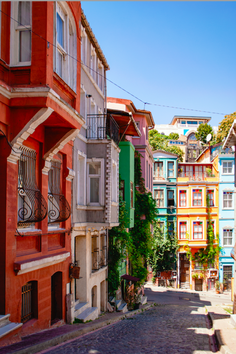 Famous Streets in Istanbul