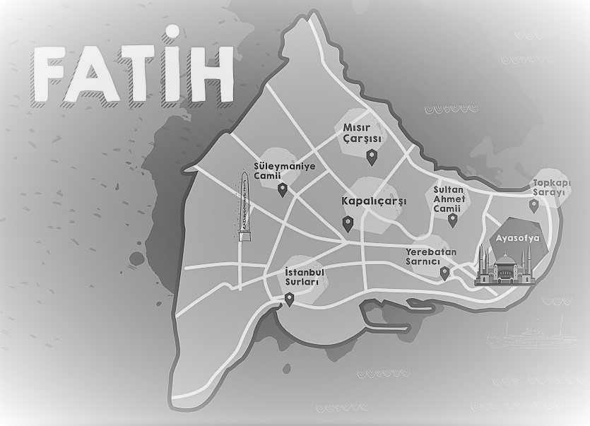 Day 1,Plan your own historical districts tour, Fatih