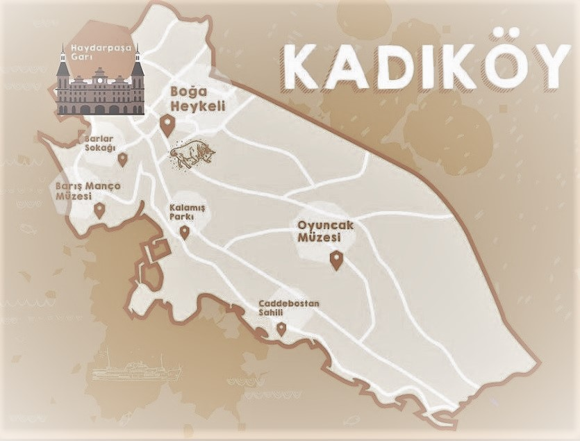 Day 4, Plan your own historical districts tour, Kadikoy